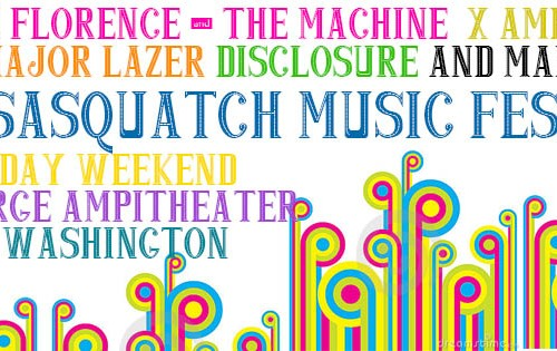 Win tickets to Sasquatch Music Festival