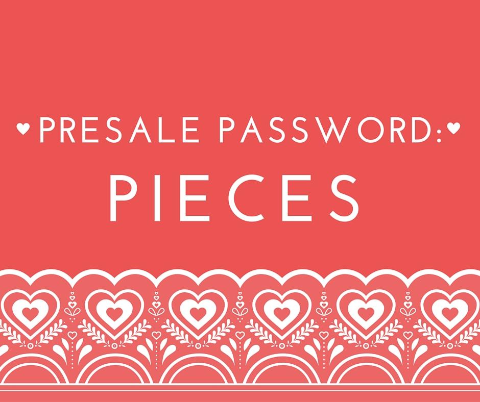 PRESALE PASSWORD-