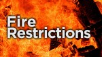 New fire restrictions