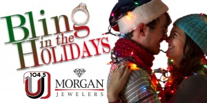 Bling in the holiday season with 104.5 the U!
