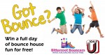 A day of bounce house fun for free!